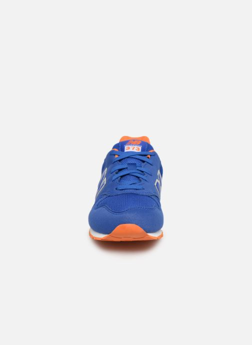 Trainers New Balance YC373 Blue model view