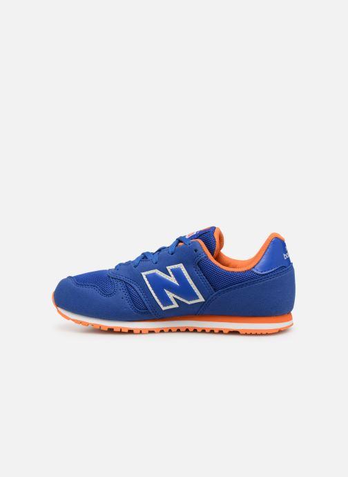 Sneakers New Balance YC373 Blauw voorkant