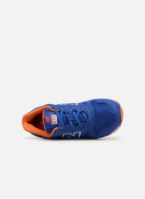 Baskets New Balance YC373 Bleu vue gauche