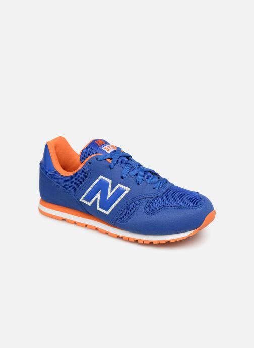 Sneakers New Balance YC373 Blauw detail