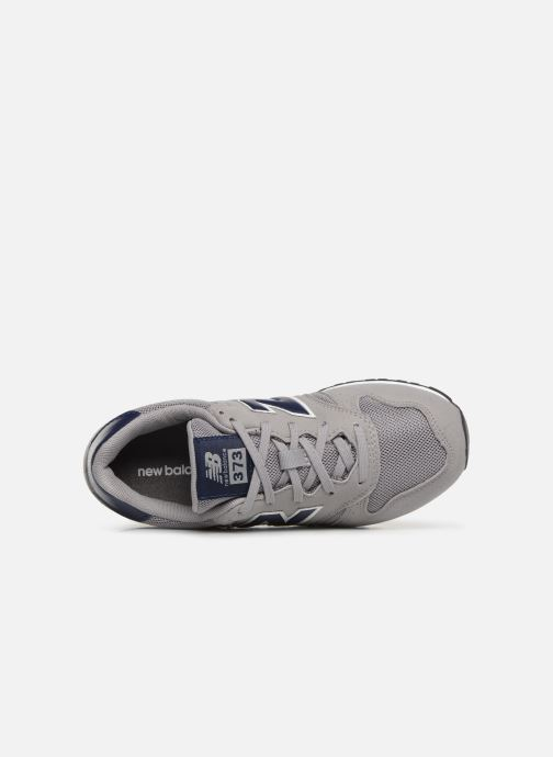 Trainers New Balance YC373 Grey view from the left