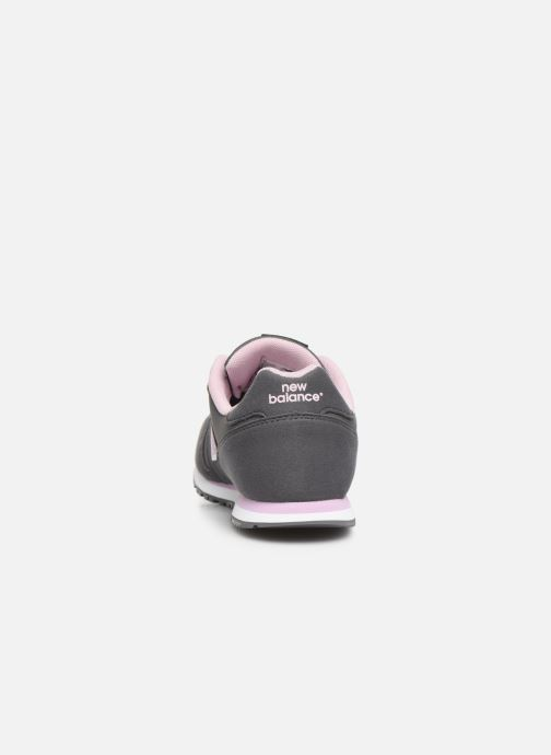 Trainers New Balance YC373 Grey view from the right