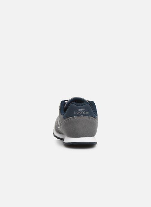 Sneaker New Balance YC373 grau ansicht von rechts