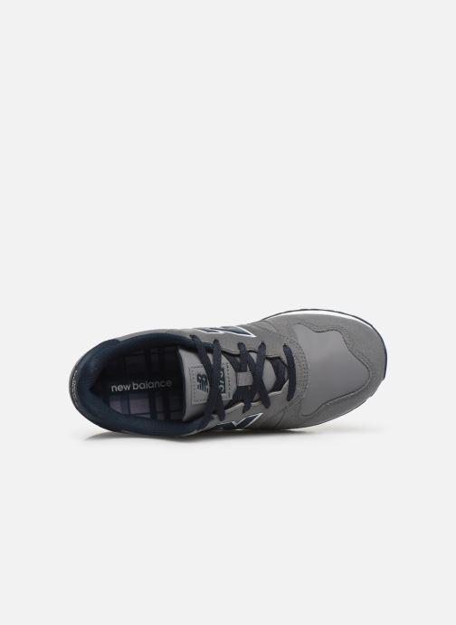Sneaker New Balance YC373 grau ansicht von links