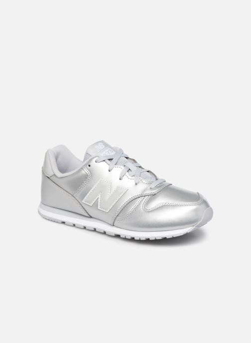 Sneakers New Balance YC373 Zilver detail