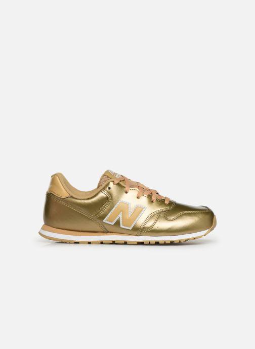 Sneaker New Balance YC373 gold/bronze ansicht von hinten