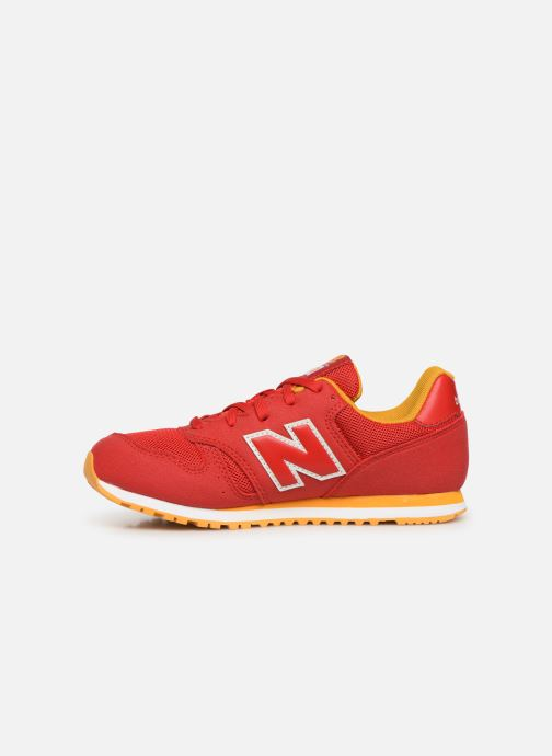 Baskets New Balance YC373 Rouge vue face