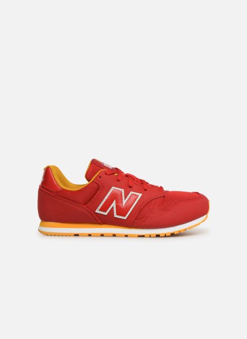 Trainers New Balance YC373 Red back view