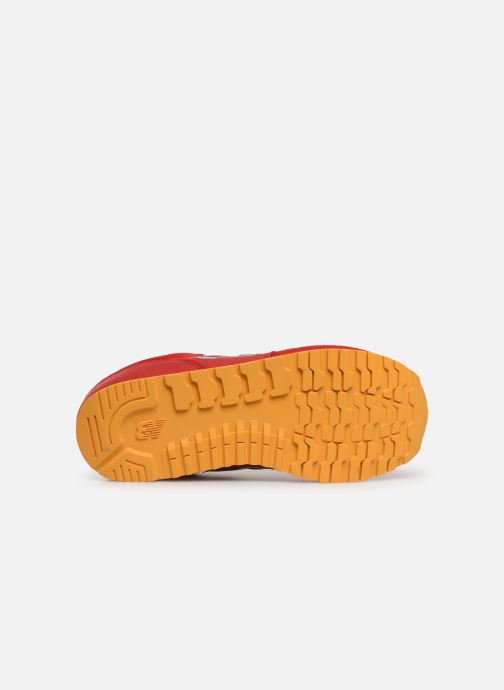 Sneakers New Balance YC373 Rood boven