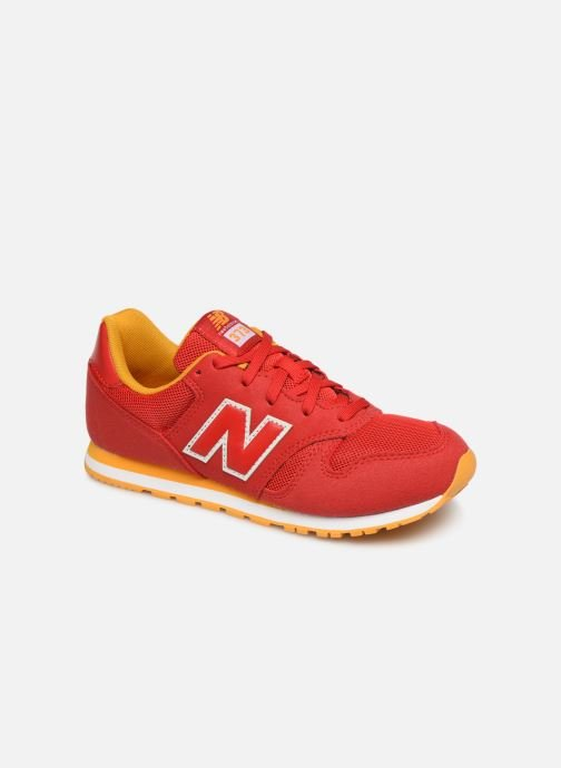 Trainers New Balance YC373 Red detailed view/ Pair view