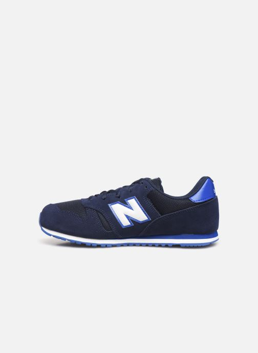 Baskets New Balance YC373 Bleu vue face