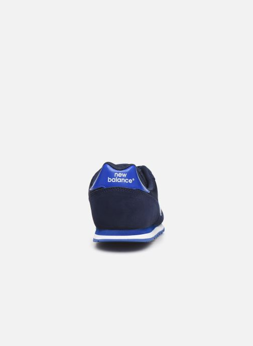 Sneakers New Balance YC373 Azzurro immagine destra