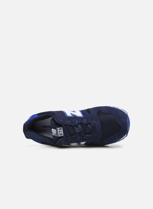 Sneakers New Balance YC373 Azzurro immagine sinistra