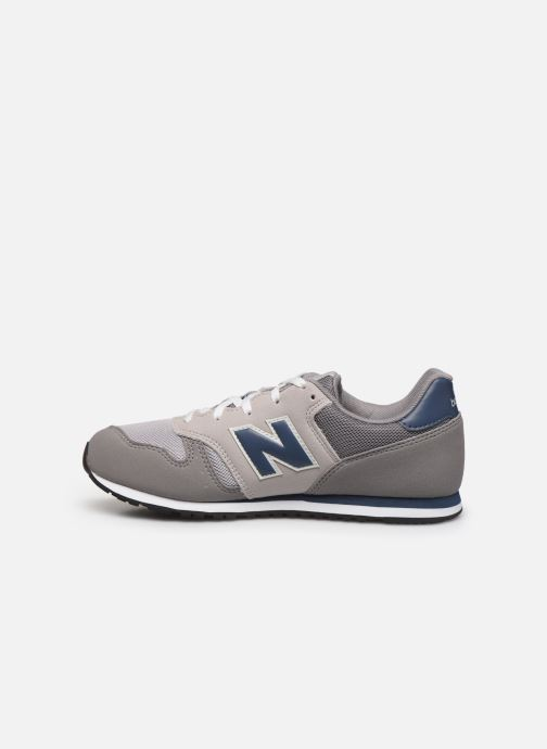 Baskets New Balance YC373 Gris vue face