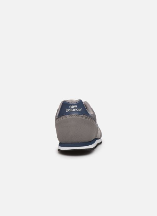 Sneakers New Balance YC373 Grijs rechts