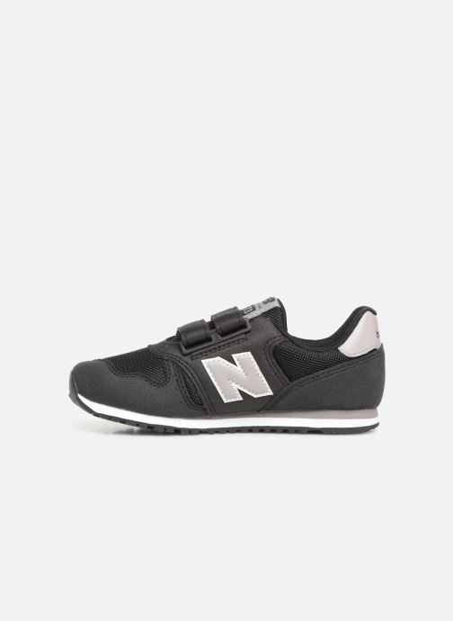 Sneakers New Balance YV373 Zwart voorkant