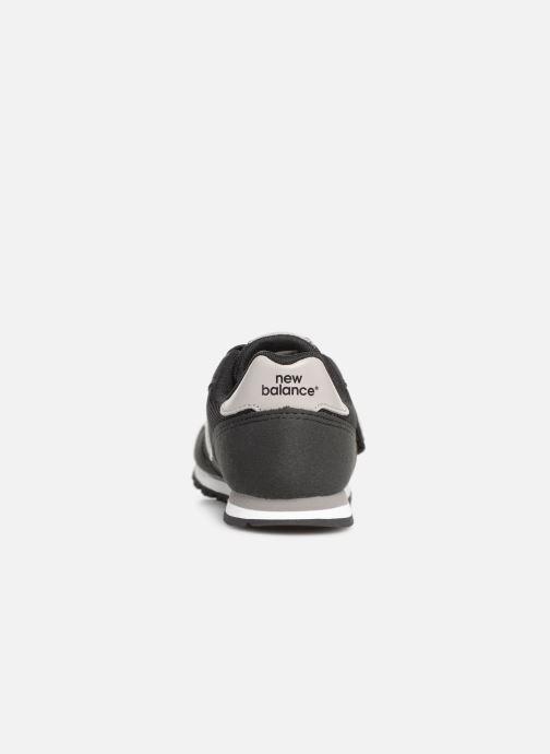 Sneaker New Balance YV373 schwarz ansicht von rechts