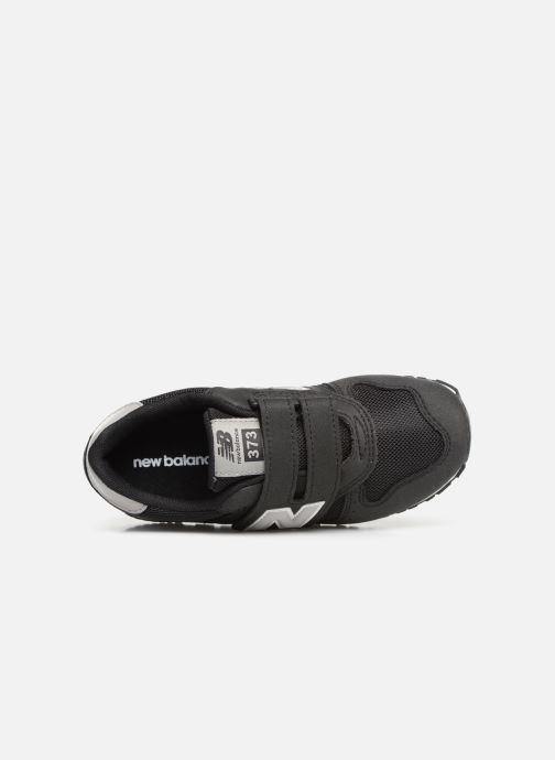 Sneaker New Balance YV373 schwarz ansicht von links
