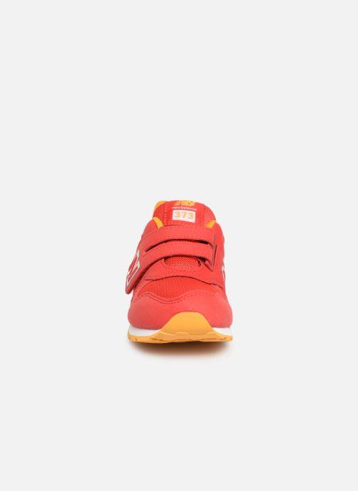 Baskets New Balance Kl373 Rouge vue portées chaussures