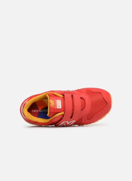 Baskets New Balance Kl373 Rouge vue gauche