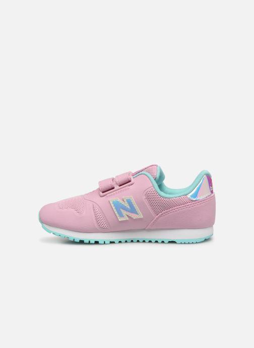 Sneaker New Balance Kz373 rosa ansicht von vorne
