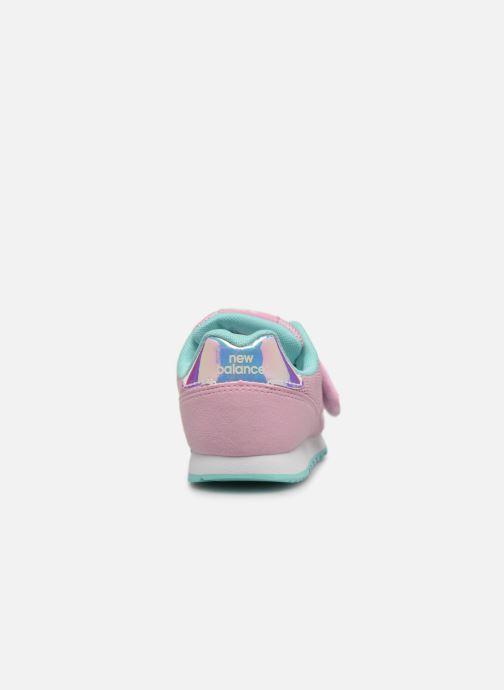 Sneaker New Balance Kz373 rosa ansicht von rechts