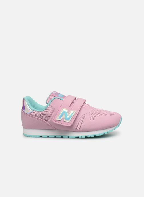 Sneaker New Balance Kz373 rosa ansicht von hinten