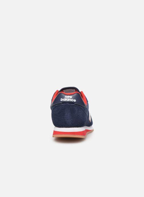 Sneaker New Balance YC520 blau ansicht von rechts