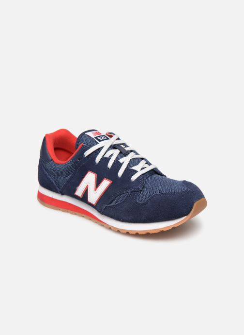 Trainers New Balance YC520 Blue detailed view/ Pair view