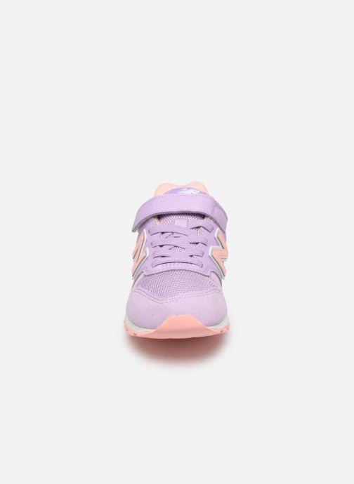 Sneaker New Balance YV996 rosa schuhe getragen