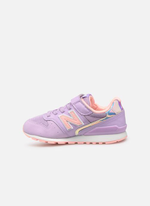 Sneaker New Balance YV996 rosa ansicht von vorne