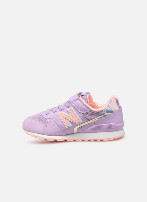 Baskets New Balance YV996 Rose vue face