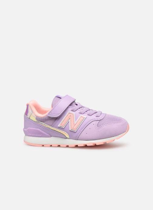 Sneaker New Balance YV996 rosa ansicht von hinten