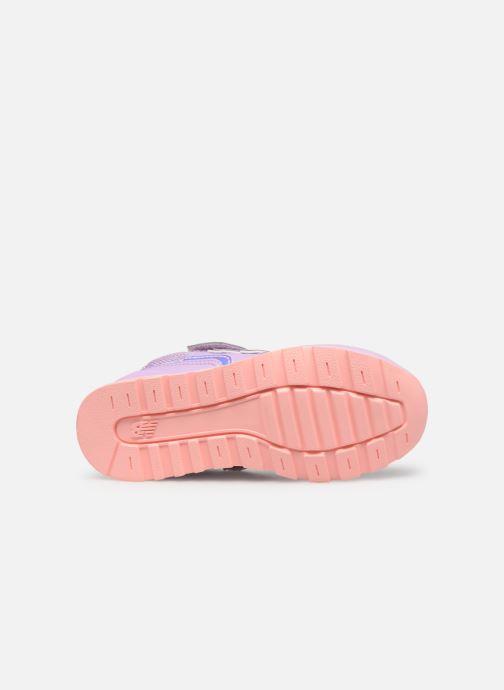 Sneaker New Balance YV996 rosa ansicht von oben