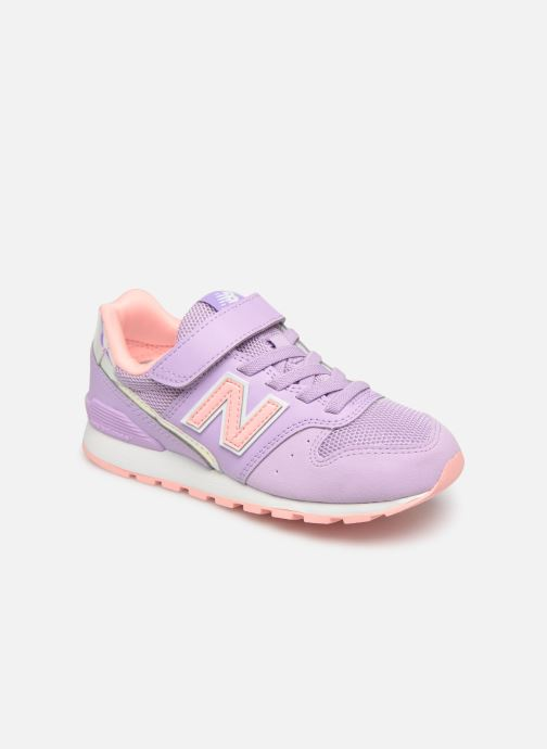 Baskets New Balance YV996 Rose vue détail/paire