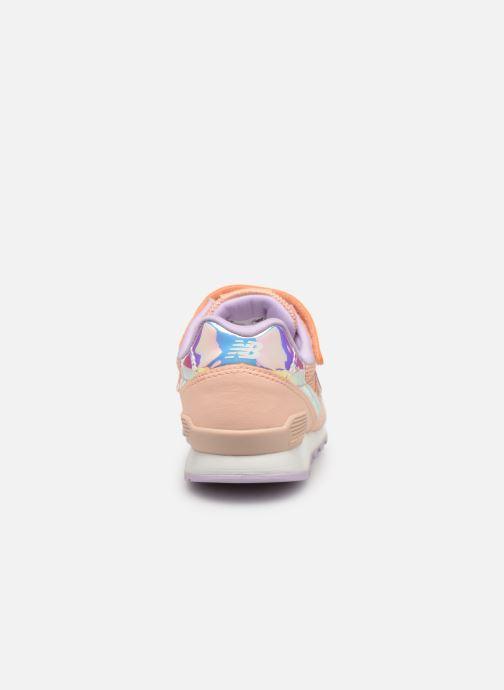 Sneakers New Balance YV996 Röd Bild från höger sidan