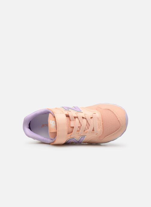 Sneakers New Balance YV996 Röd bild från vänster sidan