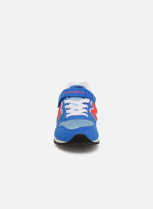 Baskets New Balance YV996 Bleu vue portées chaussures