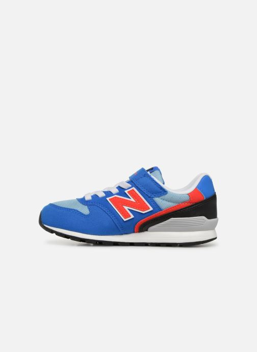 Baskets New Balance YV996 Bleu vue face