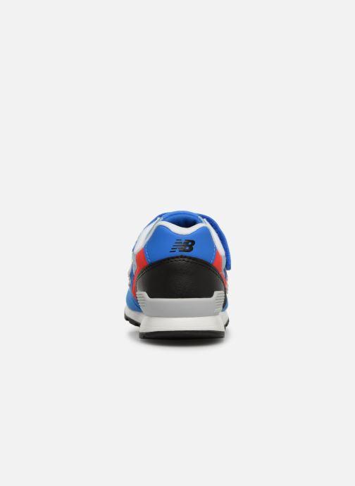 Sneaker New Balance YV996 blau ansicht von rechts