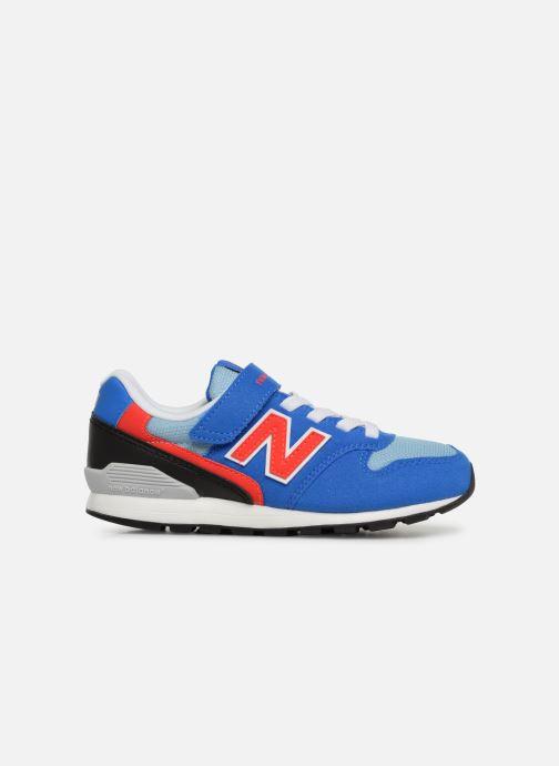 Sneaker New Balance YV996 blau ansicht von hinten