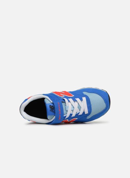 Sneaker New Balance YV996 blau ansicht von links