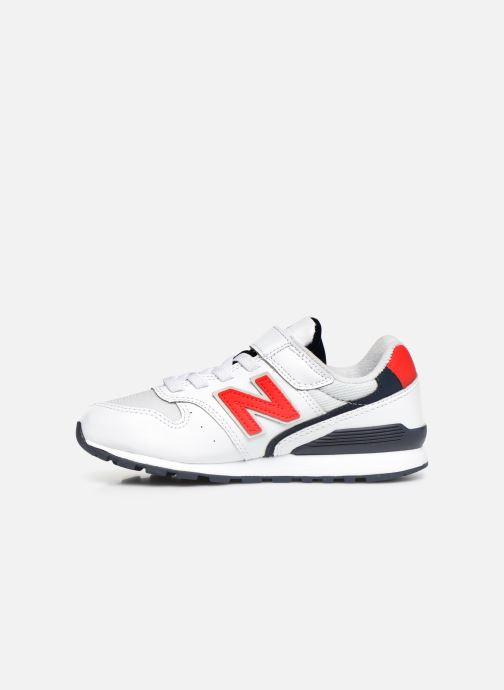 Sneakers New Balance YV996 Wit voorkant