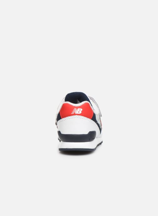 Trainers New Balance YV996 White view from the right