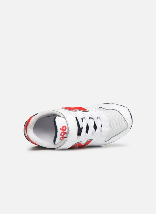 Trainers New Balance YV996 White view from the left