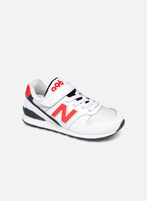 Trainers New Balance YV996 White detailed view/ Pair view