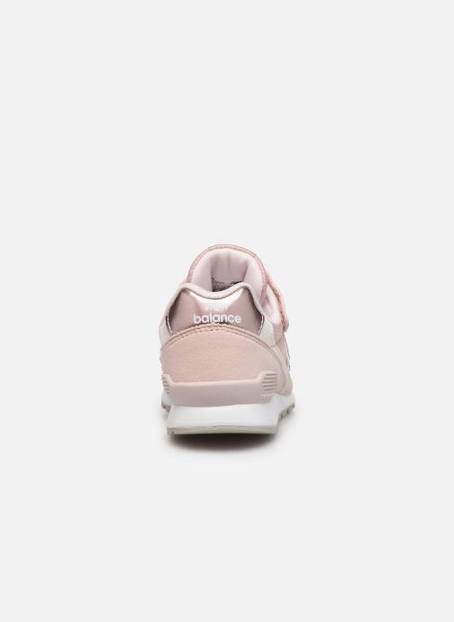 Sneakers New Balance YV996 Rosa Bild från höger sidan