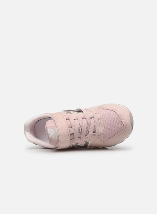 Trainers New Balance YV996 Pink view from the left
