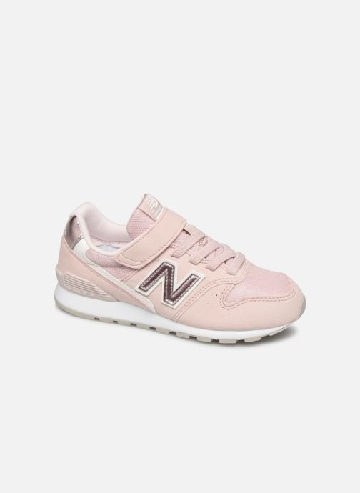 Trainers New Balance YV996 Pink detailed view/ Pair view