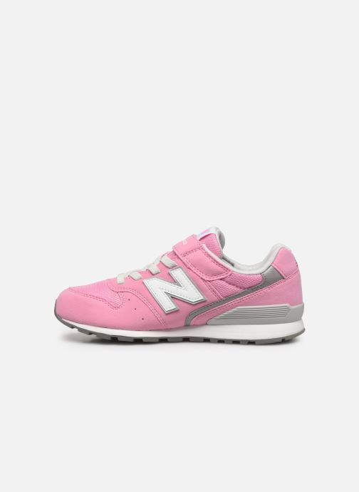 Trainers New Balance YV996 Pink front view